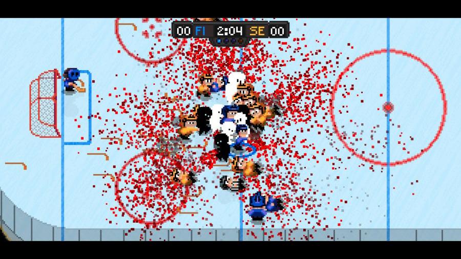 Super Blood Hockey Review - Screenshot 1 of 7
