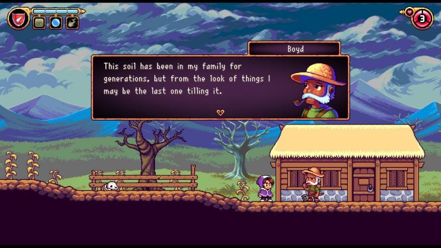 Alwa's Legacy Review - Screenshot 1 of 6