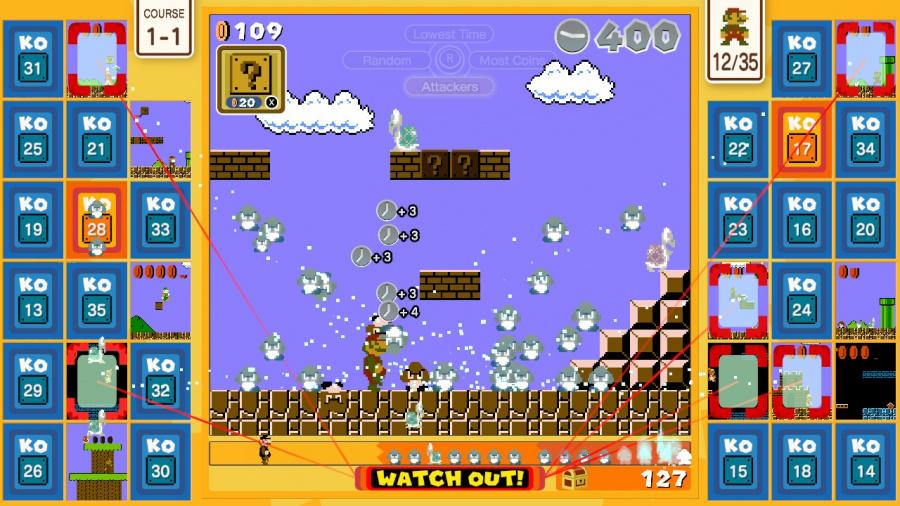 Revisión de Super Mario Bros.35 - Captura de pantalla 1 de 7