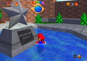 Super Mario 64 Review - Screenshot 1 of 2