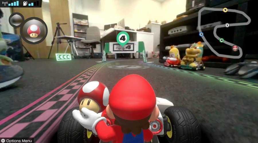 Mario Kart Live: Home Circuit Review - Screenshot 1 of 9