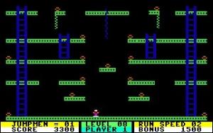 Jumpman Review - Screenshot 1 of 3