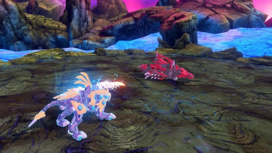 Zoids Wild: Blast Unleashed Review - Screenshot 1 of 4