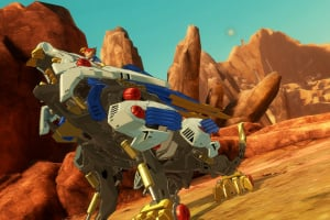 Zoids Wild: Blast Unleashed Screenshot