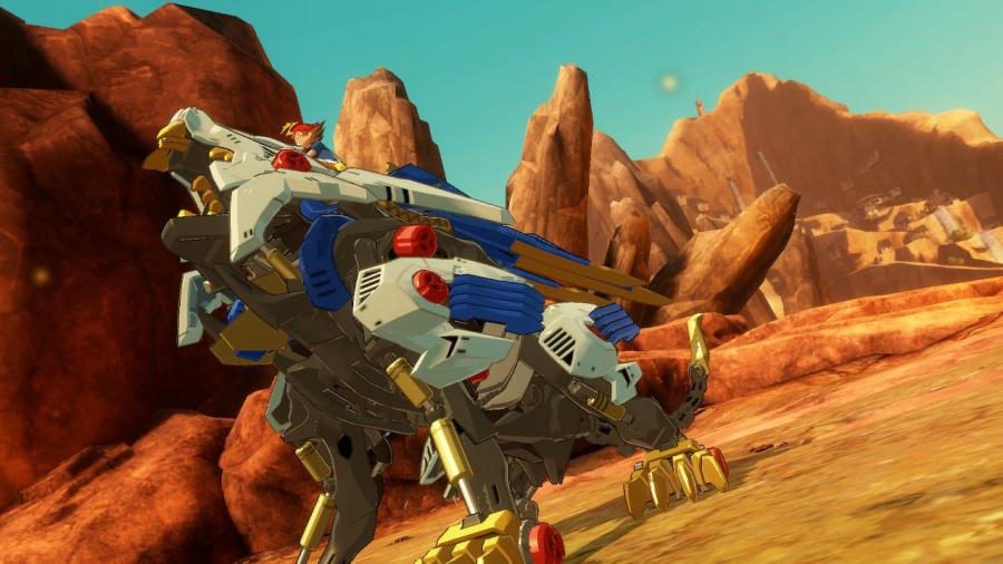 Zoids Wild: Blast Unleashed Review - Screenshot 2 of 4