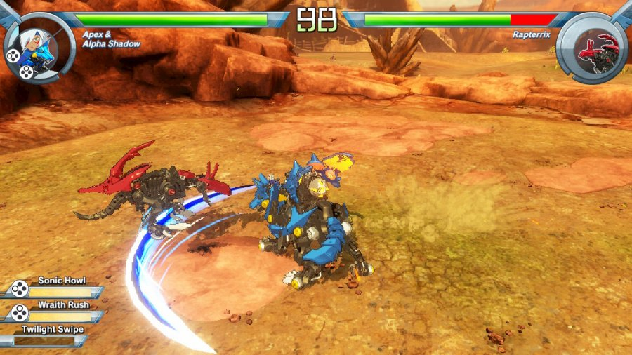 Zoids Wild: Blast Unleashed Review - Screenshot 1 of 4