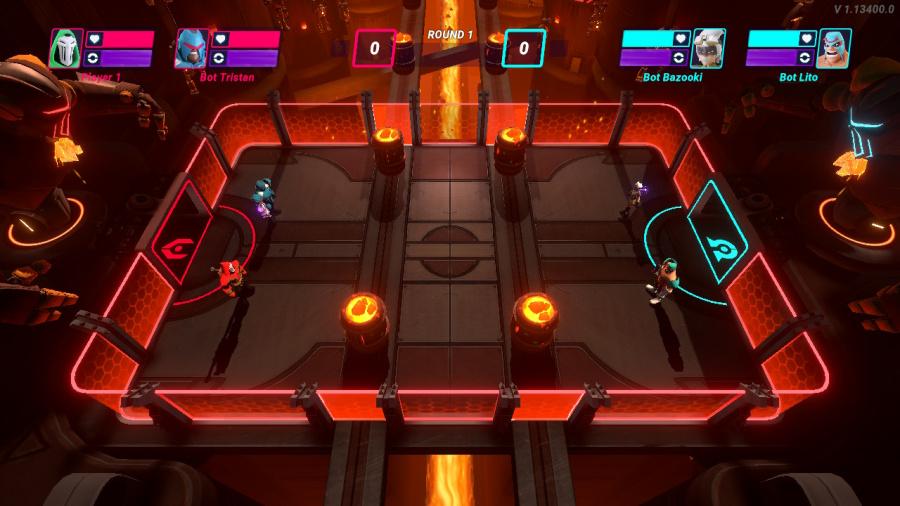 HyperBrawl Tournament Review - Screenshot 1 of 4