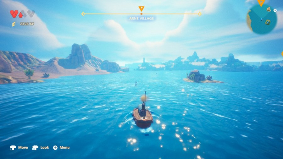 Oceanhorn 2: Knights of the Lost Realm Review - Screenshot 1 of 4