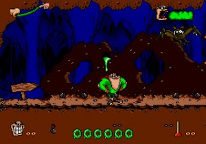 Boogerman: A Pick and Flick Adventure Review - Screenshot 1 of 3