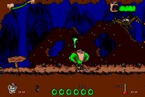 Boogerman: A Pick and Flick Adventure Screenshot