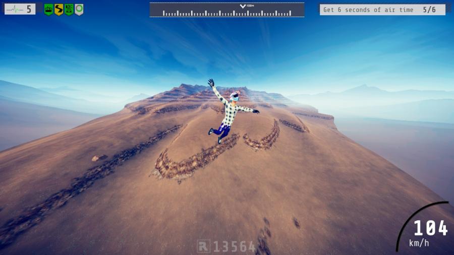 Descenders Review - Screenshot 1 of 6