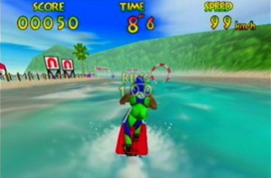 Wave Race 64 Review - Screenshot 2 of 5