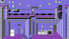 Impossible Mission II Screenshot