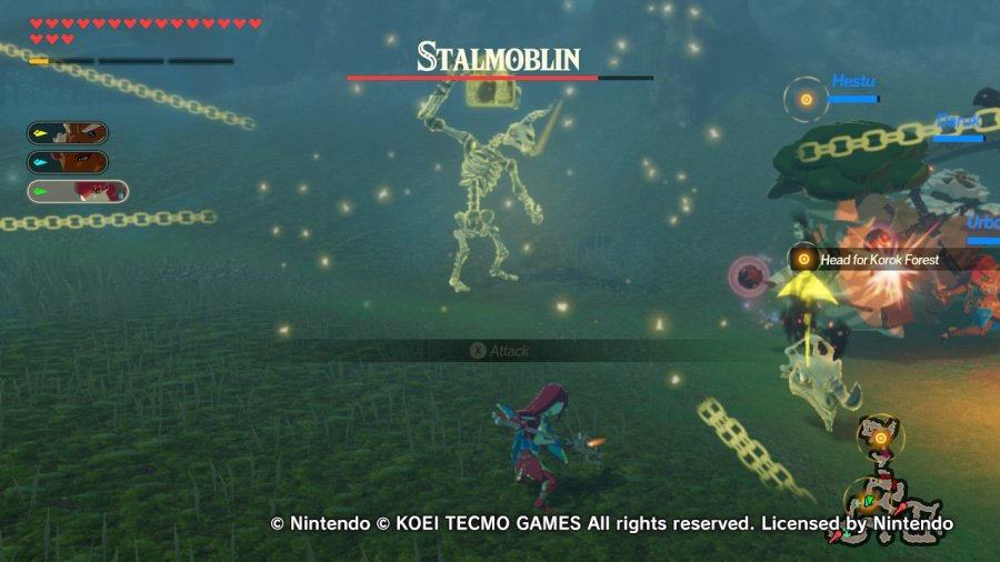 Hyrule Warriors: Age of Calamity Review - Screenshot 1 of 10