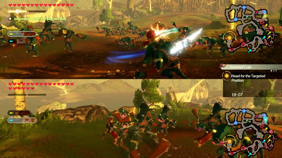 Hyrule Warriors: Age of Calamity Review - Screenshot 1 of 11