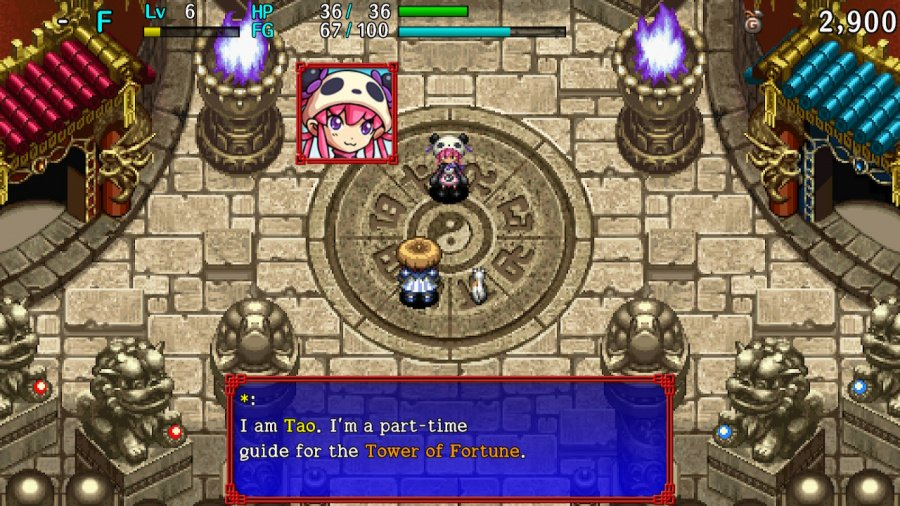Shiren the Wanderer: The Tower of Fortune and the Dice of Fate Review - Screenshot 1 of 5