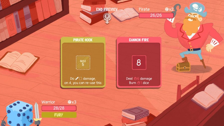 Dicey Dungeons Review - Screenshot 1 of 7