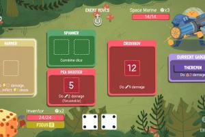 Dicey Dungeons Screenshot