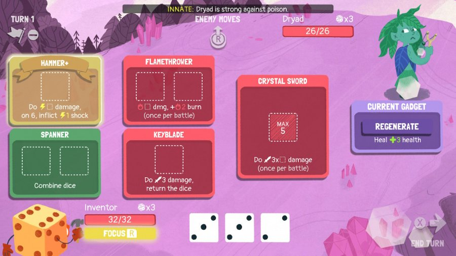Dicey Dungeons Review - Screenshot 1 of 6
