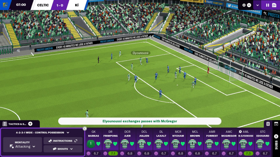 Football Manager 2021 Touch Review - Screenshot 1 of 5