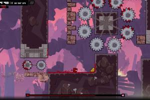 Super Meat Boy Forever Screenshot
