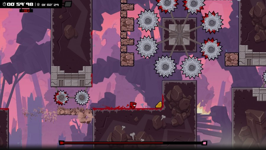 Super Meat Boy Forever Review - Screenshot 1 of 4