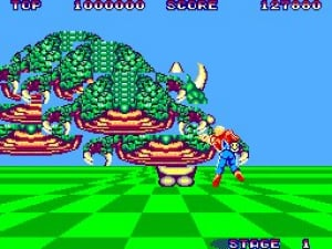 Space Harrier Review - Screenshot 2 of 2