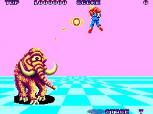 Space Harrier Review - Screenshot 1 of 2