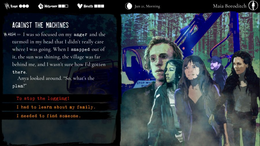 Werewolf: The Apocalypse - Heart of the Forest Review - Screenshot 1 of 4