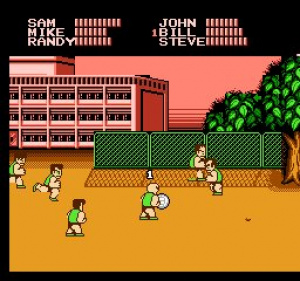 Super Dodge Ball Review - Screenshot 2 of 3