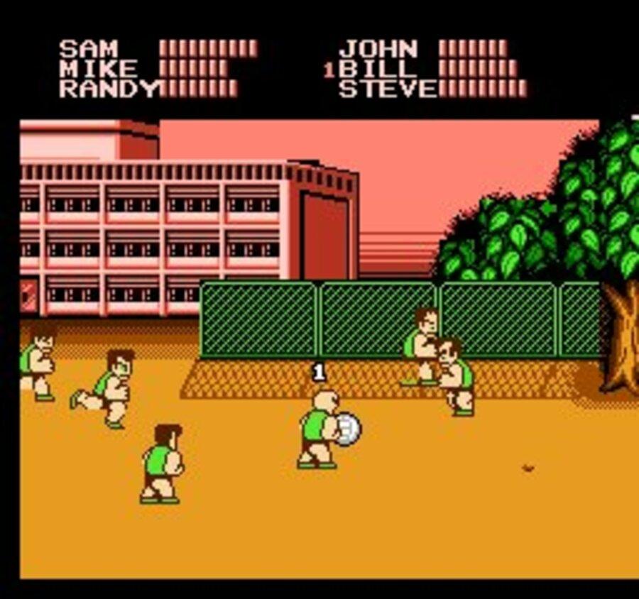 Super Dodge Ball Screenshot