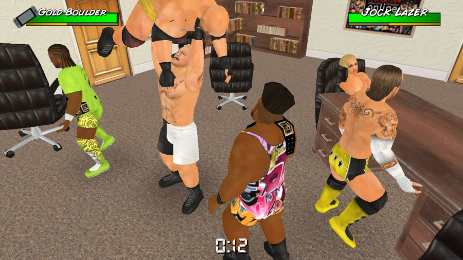 Wrestling Empire Review - Screenshot 1 of 6
