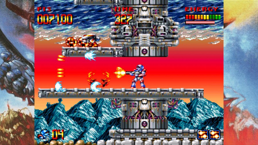 Turrican Flashback Review - Screenshot 1 of 4