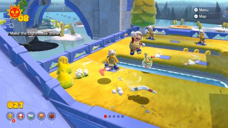 Super Mario 3D World + Bowser's Fury Review - Screenshot 1 of 13