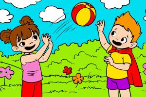 Comic Coloring Book Screenshot