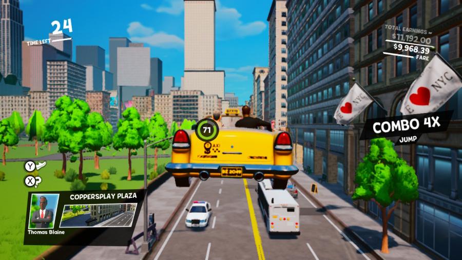 Taxi Chaos Review - Screenshot 1 of 2