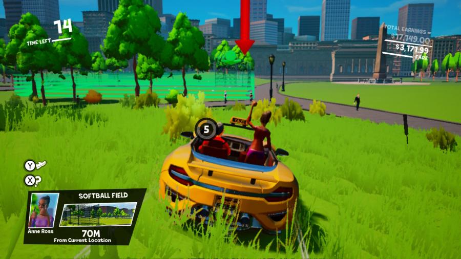 Taxi Chaos Review - Screenshot 1 of 3