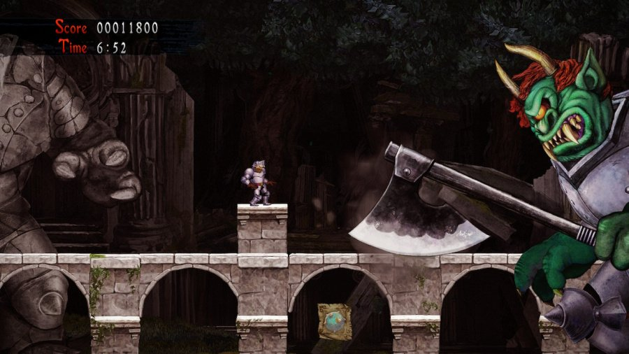 Ghosts 'n Goblins Resurrection Review - Screenshot 1 of 6