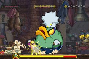 Wario Land: Shake It! Screenshot