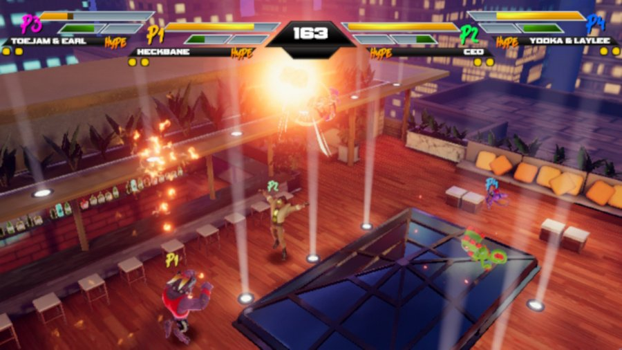 Mighty Fight Federation Review - Screenshot 1 of 6