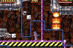 Super Turrican Screenshot