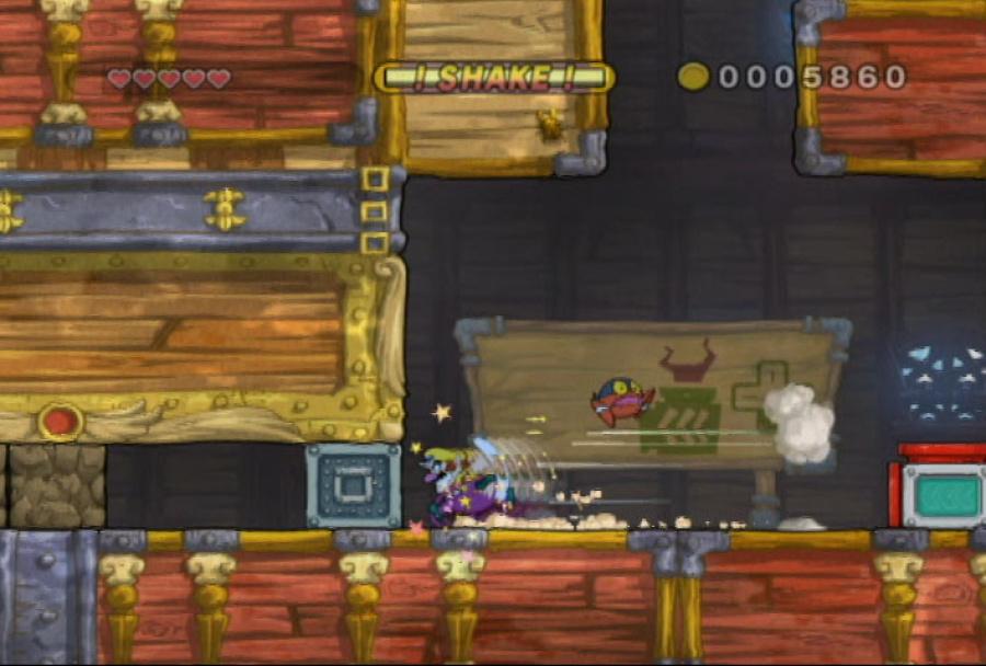 Wario Land: Shake It! Review - Screenshot 1 of 4