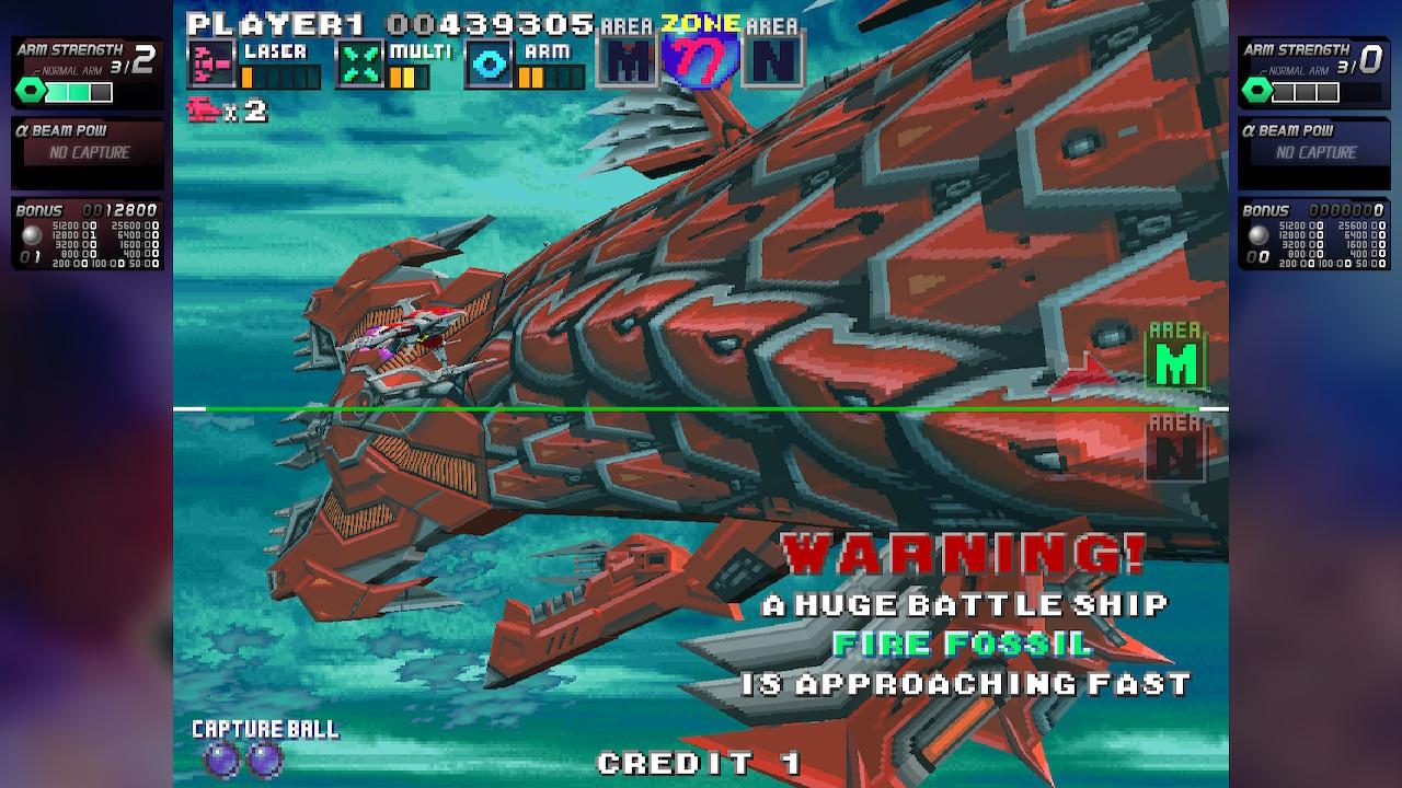 G-Darius HD (Switch eShop) Screenshots