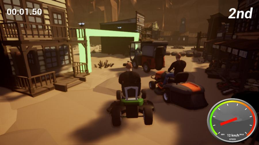 Lawnmower Game: Racing Review - Screenshot 1 of 4