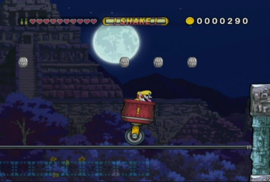 Wario Land: Shake It! Review - Screenshot 1 of 5