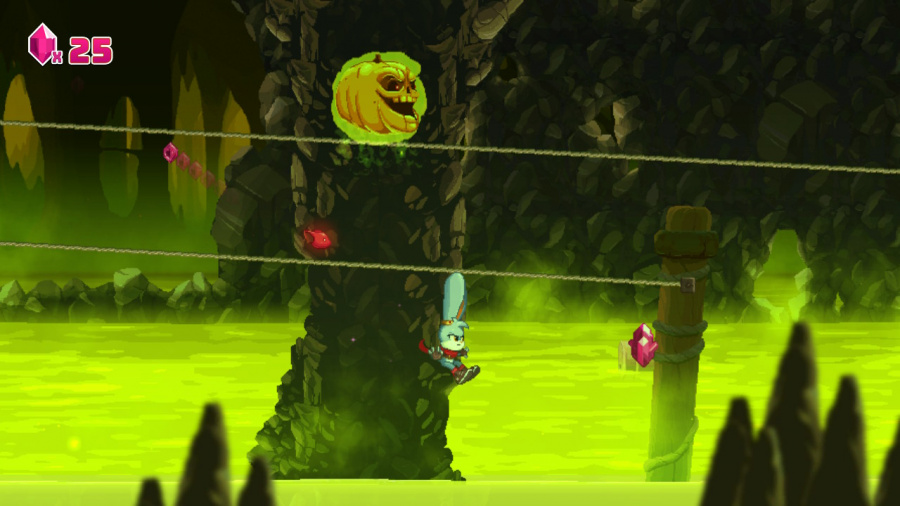 Kaze and the Wild Masks Review - Screenshot 1 of 2