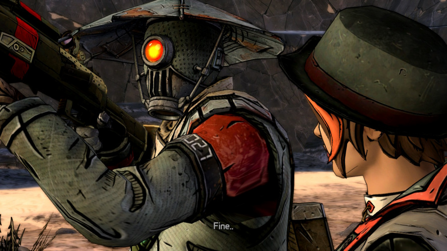 Tales from the Borderlands Review - Screenshot 1 of 4
