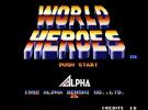 World Heroes Screenshot