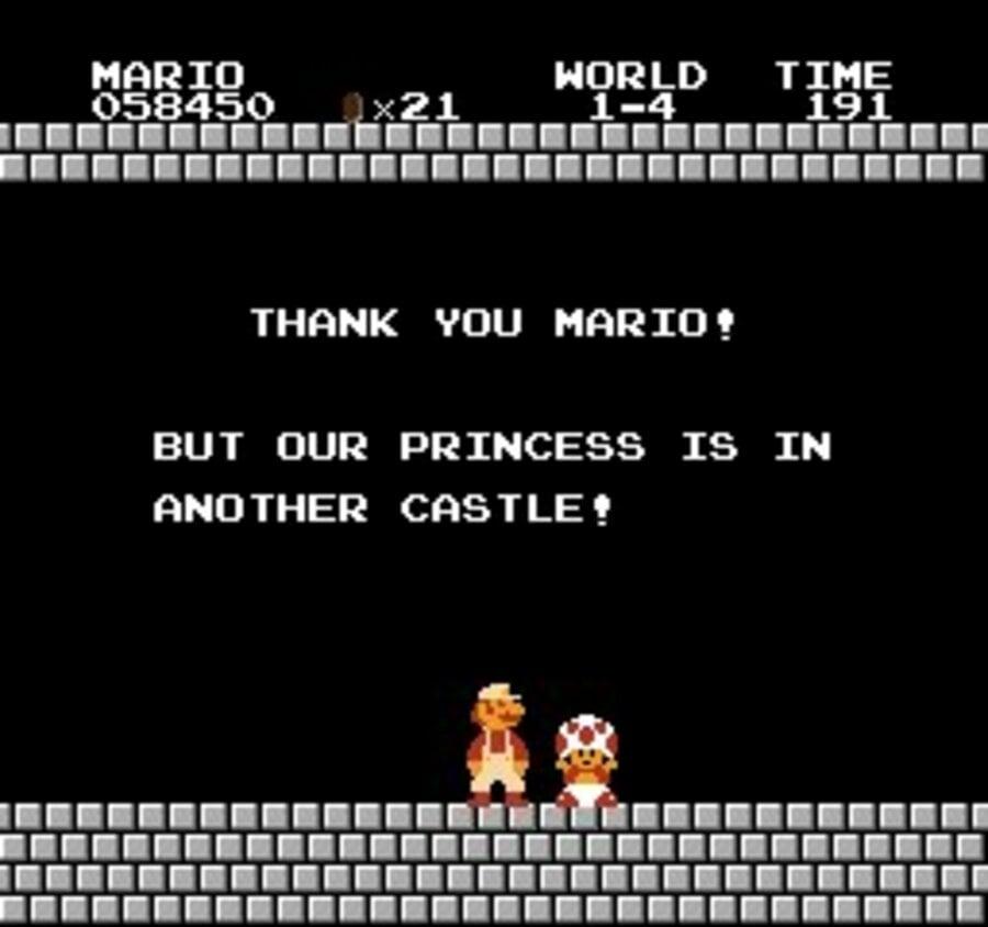 Super Mario Bros. Screenshot