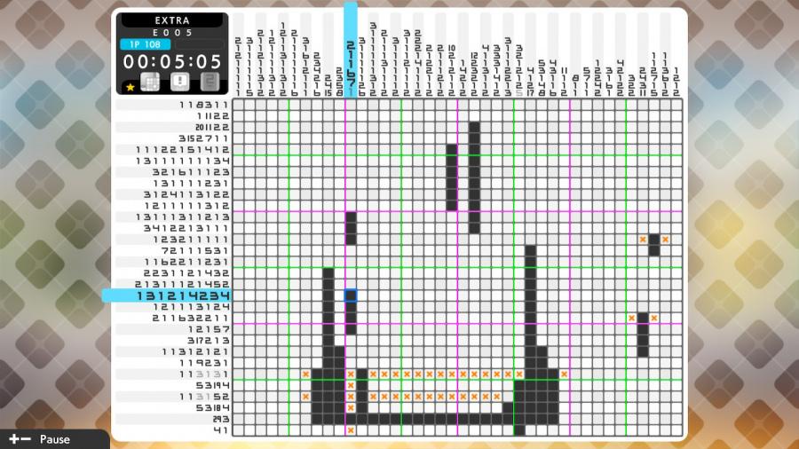 Picross S6 Review - Screenshot 1 of 6